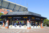 US Open collection store during US Open 2014 at Billie Jean King National Tennis Center — Stok fotoğraf
