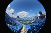 Luis Armstrong Stadium at the Billie Jean King National Tennis Center during US Open 2014 — Stok fotoğraf