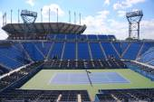 Luis Armstrong Stadium at the Billie Jean King National Tennis Center during US Open 2014 — Foto de Stock