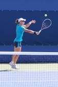 Grand Slam champion Samantha Stosur practices for US Open 2014 — Stock Photo