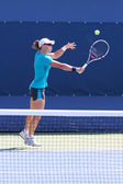 Grand Slam champion Samantha Stosur practices for US Open 2014 — Stok fotoğraf
