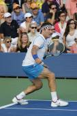 Grand Slam champion Pat Cash during US Open 2014 champions exhibition match — Stok fotoğraf