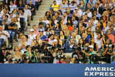 Professional photographers at US Open 2014 at Billie Jean King National Tennis Center — Stockfoto