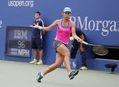 Professional tennis player Varvara Lepchenko during fourth round match at US Open 2014 — 图库照片