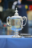 US Open Men singles trophy during trophy presentation after US Open 2014 championship match — Photo