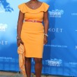 Co-anchor of CBS This Morning Gayle King at the red carpet before US Open 2014 opening night ceremony — Stock Photo #57570365