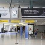 ������, ������: Inside of British Airways Terminal 7 at JFK International Airport in New York