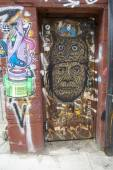Mural art in Williamsburg section in Brooklyn — ストック写真