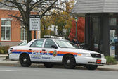 Nassau County Police Department car — Stock Photo