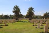 Beer Sheba World War I Cemetery — Stock Photo