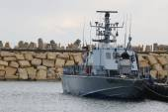 Israel Navy Patrol Boat Super Dvora Mk III in Herzliya Marina — Stock Photo