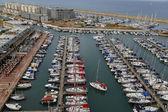 Luftbild von Herzliya Marina — Stockfoto