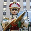 Постер, плакат: Wooden toy soldier crash cymbals Christmas decoration at the Rockefeller Center in Midtown Manhattan