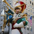 Постер, плакат: Wooden toy soldier bugler Christmas decoration at the Rockefeller Center in Midtown Manhattan