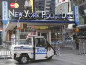 Famous NYPD Times Square Precinct in Midtown Manhattan — Stock Photo