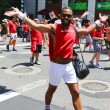 Delta Airlines LGBT Pride Parade participants in New York City — Stock Photo #61098159