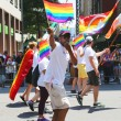 LGBT Pride Parade participants in New York City — Stock Photo #61098165