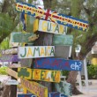 Signpost at Grand Cayman — Stock Photo #61100047