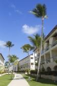 Royalton All-inclusive Resort and Casino located at the Bavaro beach in Punta Cana — Stock Photo