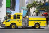 Clark County Fire Department Paramedic Truck on Las Vegas Strip — Stock Photo