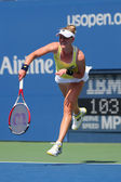 Professional tennis player Alison Riske from USA during US Open 2014 match — Stock Photo