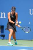 Grand Slam Champion Ana Ivanovic from Serbia during US Open 2014 first round match — Stock Photo