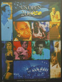 US Open 2000 poster on display at the Billie Jean King National Tennis Center in New York — Stock Photo