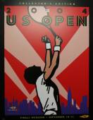 US Open 2004 poster on display at the Billie Jean King National Tennis Center in New York — Stock Photo