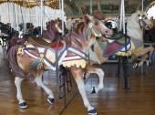 Geleneksel fuar jane's carousel brooklyn ata — Stok fotoğraf