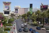 Вид с воздуха полосы Лас-Вегаса — Стоковое фото
