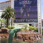 Постер, плакат: The Mirage Casino on the Las Vegas Strip in Las Vegas