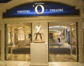 Entrance to O Theatre by Cirque du Soleil at the Bellagio hotel in Las Vegas — Stock Photo