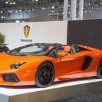 Lamborghini luxury sport car — Stock Photo #64360289