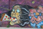 Росписи искусство на Востоке Вильямсбурга в Бруклине — Стоковое фото