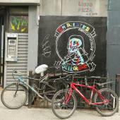 Muurschilderingen in Little Italy in Manhattan — Stockfoto