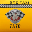 Checker Taxi Cab produced by the Checker Motors Corporation In New York — Stock Photo #67451395