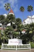 Historic Hotel Del Coronado in San Diego — Foto Stock