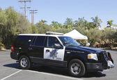 San Diego County Sheriff car — Stock Photo