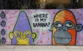 Malarstwo ścienne w sekcji Astoria z Queens — Zdjęcie stockowe