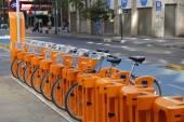 Bike Santiago bicycle sharing station in Santiago, Chile — Stockfoto