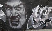 Arte murale a est di williamsburg a brooklyn — Foto Stock
