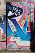 Brooklyn'de Doğu Williamsburg, Graffiti sanatı — Stok fotoğraf