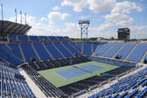 Luis Armstrong Stadium at the Billie Jean King National Tennis Center during US Open 2014 — Stock Photo
