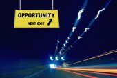 Opportunity Next Exit Concept — Stock Photo