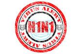 H1N1 Virus Alert Concept — Stock Photo