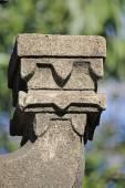 Close up of Deepmala (Light pillar)  — Stock Photo