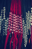 Traditional necklaces in a Market — Stock fotografie