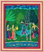Ragamala painting — Stock Photo