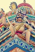 Sculpture at Shrinath Mhaskoba Temple, Kodit, Sasvad, Maharashtr — Stock Photo