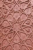 Brass craftsmanship on a door at the Bibi-ka-Maqbara. Aurangabad — Stock Photo